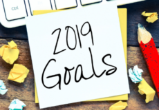 2019 goals - readjust to get back on track